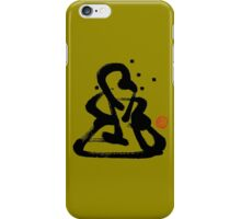 Za Zen - One Black Stroke iPhone Case/Skin