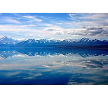 Lake Pukaki and Mount Cook Photographic Print