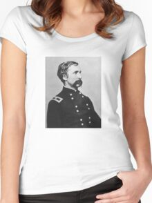 Joshua Lawrence Chamberlain  Women's Fitted Scoop T-Shirt