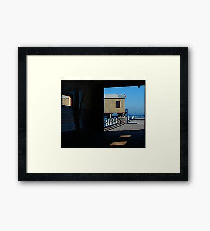 Queenscliff, Historic Pier Framed Print