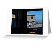 Queenscliff, Historic Pier Greeting Card