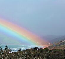 rainbow beach by Davegazzard