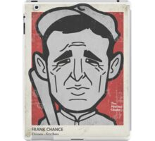 Frank Chance Caricature iPad Case/Skin
