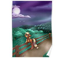 Applejack Cries on the Inside Poster