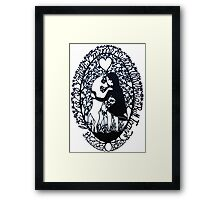 Life Is So Much Merrier When You Love A Bull Terrier Framed Print