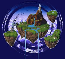 Kingdom of Zeal - Chrono Trigger by likelikes