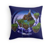 Kingdom of Zeal - Chrono Trigger Throw Pillow