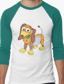 The Slinky Dog Men's Baseball ¾ T-Shirt