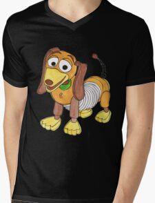 The Slinky Dog Mens V-Neck T-Shirt