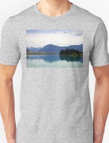 Lake Ruataniwha New Zealand landscape Unisex T-Shirt