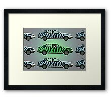 There's One in Every Crowd! Framed Print