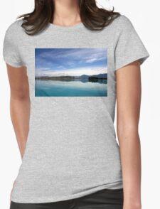 Lake Ruataniwha, New Zealand landscape 2 Womens Fitted T-Shirt