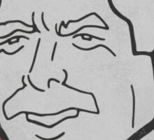 Mike Schmidt Caricature Sticker