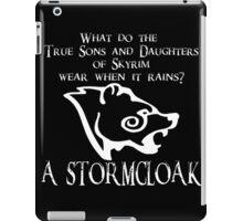 Skyrim - Stormcloak Joke iPad Case/Skin