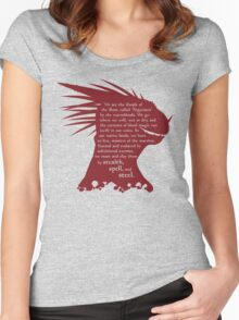 ES: Who are the Argonians? Women's Fitted Scoop T-Shirt