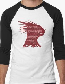 ES: Who are the Argonians? Men's Baseball ¾ T-Shirt