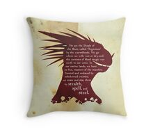 ES: Who are the Argonians? Throw Pillow