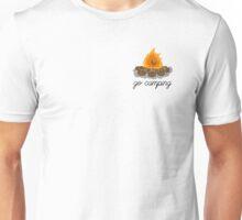 go camping campfire art Unisex T-Shirt