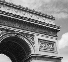 Tomb of a lost hero - Arc de Triomphe by brentrowe