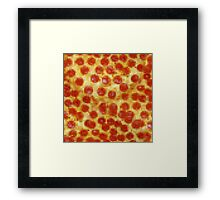 PIZZA! Framed Print