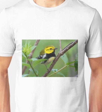 Black-throated Green Warbler Unisex T-Shirt