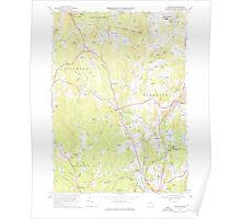 Massachusetts  USGS Historical Topo Map MA Sterling 350626 1968 24000 Poster