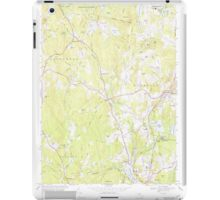 Massachusetts  USGS Historical Topo Map MA Sterling 350626 1968 24000 iPad Case/Skin