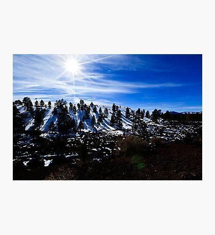 San Francisco Mountains Arizona Photographic Print