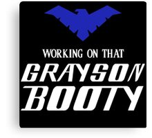 Batman - Grayson Booty Canvas Print