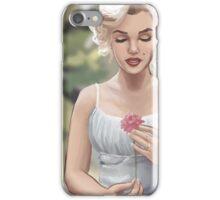 Flowergirl (No Grain) iPhone Case/Skin