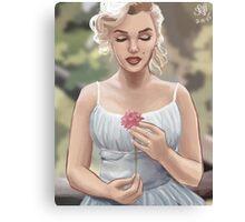 Flowergirl (No Grain) Canvas Print