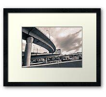 Boston roads Framed Print