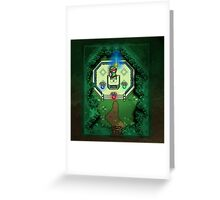Zelda Link to the Past Master Sword Greeting Card