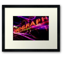 biograph theater, chicago Framed Print