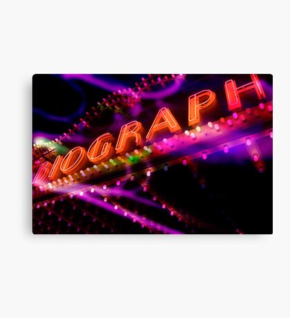 biograph theater, chicago Canvas Print