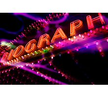 biograph theater, chicago Photographic Print