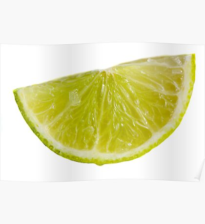 Lime Zest Poster