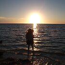 Staring into the sunset, Ningaloo, WA by BigAndRed