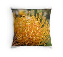 Pin Protea Throw Pillow