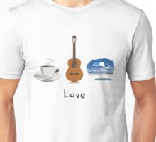 Three Loves, One Shirt Unisex T-Shirt