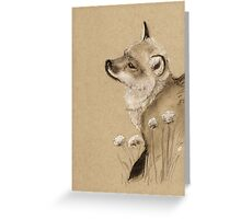 Baby Fox Greeting Card