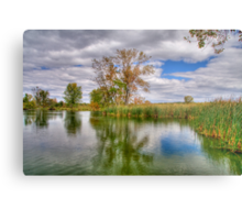 Reflection on a Fall Afternoon Metal Print