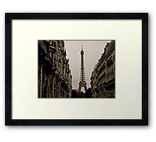 Paris, Step Back in Time Framed Print
