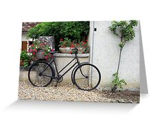 Bicycle, France. Greeting Card