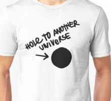Hole To Another Universe Graffiti (Life is Strange)-- Tilted Unisex T-Shirt