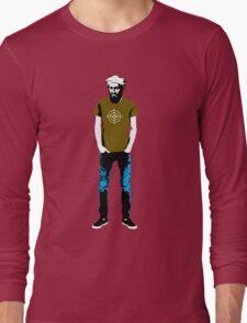 Hipster Bin Laden Long Sleeve T-Shirt