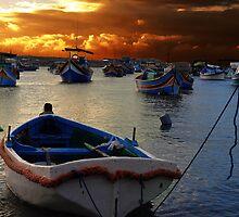 Marsaxlokk, Malta. by RAY AGIUS