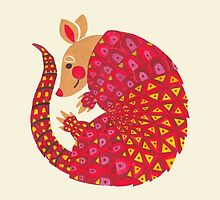 The Ethnic Armadillo by haidishabrina