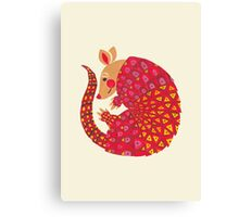 The Ethnic Armadillo Canvas Print