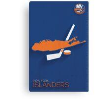 New York Islanders Minimalist Print Canvas Print
